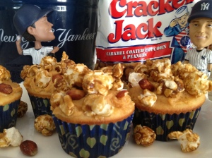 Our Version of Cracker Jack Cupcakes